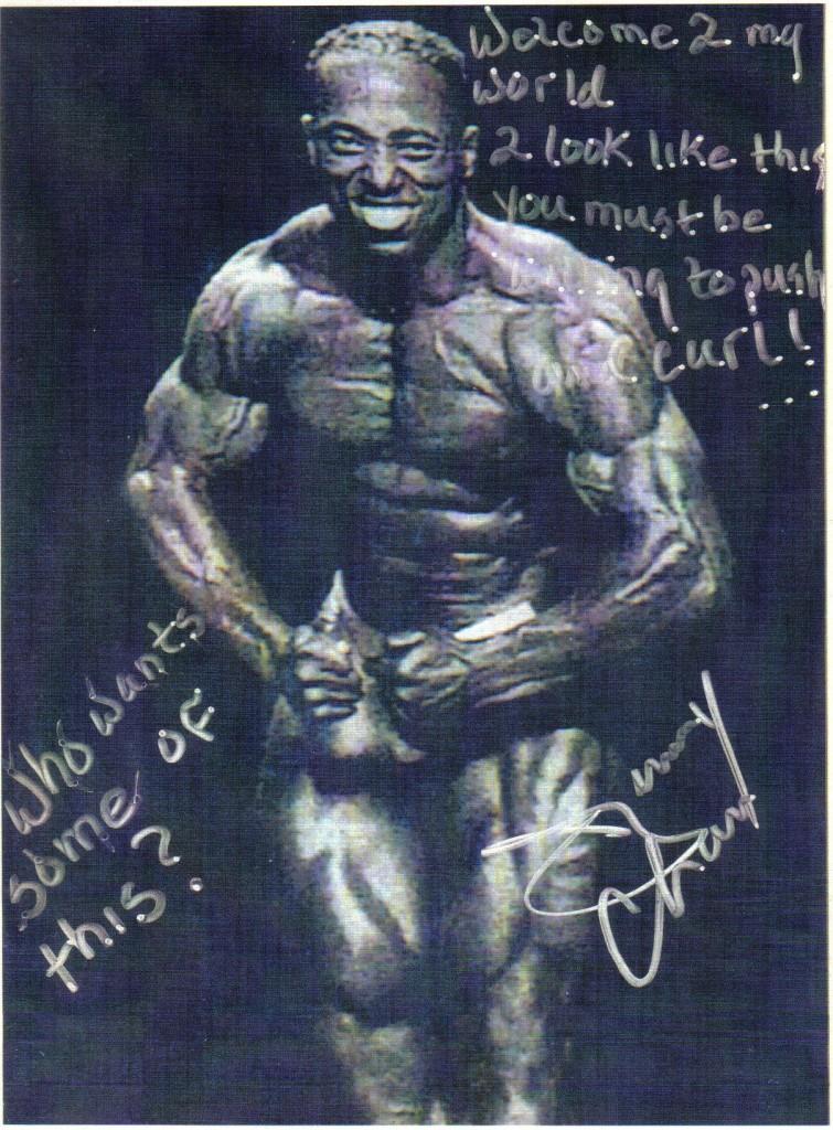 1993 NPC Team Universe Body Building Championships 5th Place Winner Light Heavy Weight